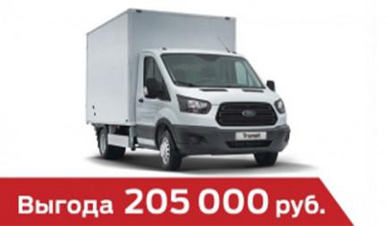 Промтоварный грузовой фургон