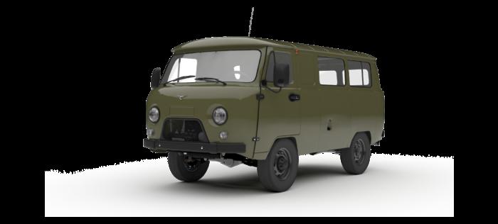 УАЗ Остекленный фургон 2.7 5MT (112 л.с.) Стандарт