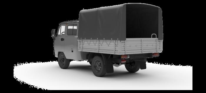 УАЗ Двойная кабина с бортом 2.7 5MT (112 л. с.) Euro-V Стандарт 552