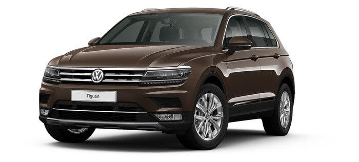 Volkswagen Tiguan 1.4 TSI BlueMotion DSG (150 л.с.) 2WD Connect Plus