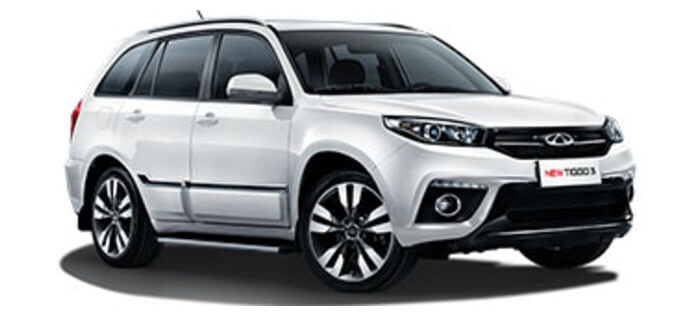 Chery Tiggo 3 1.6 CVT (126 л.с.) Luxury Plus