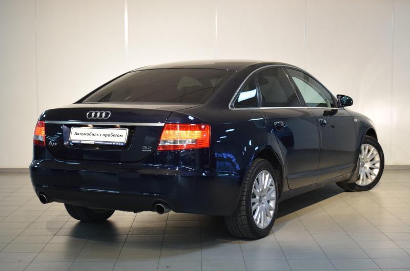 Audi A6 3.2 FSI tiptronic quattro (255 л. с.)